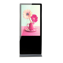 42 inch windows 7 touch screen free standing lcd led video tv indoor kiosk