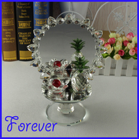 wholesale crystal fruit model items for home table decorations