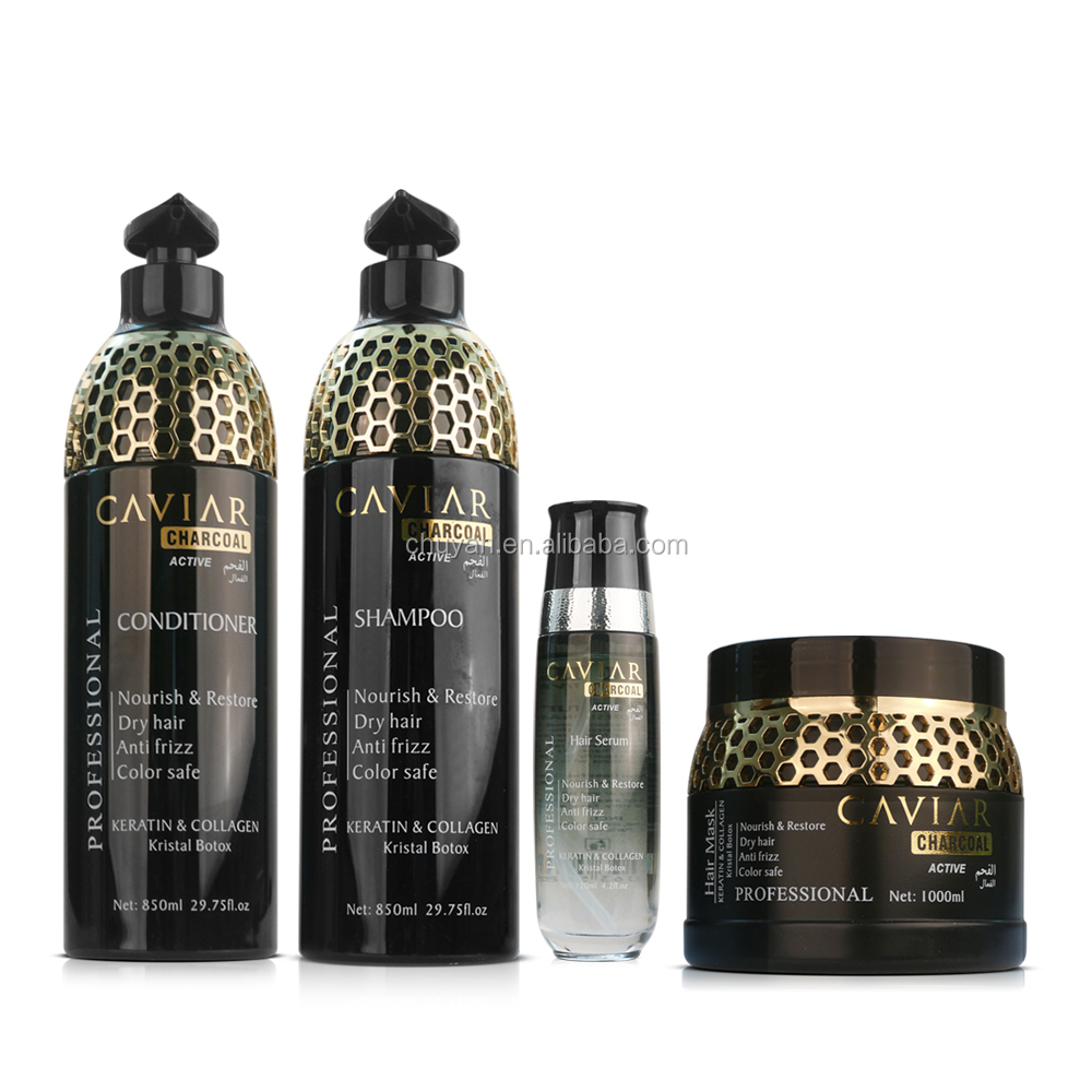 Hot selling Hair care product hair shampoo with caviar 850ml