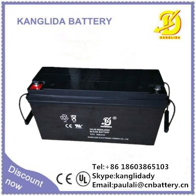 12v150ah deep cycle battery for solar energy system, solar agm gel battery