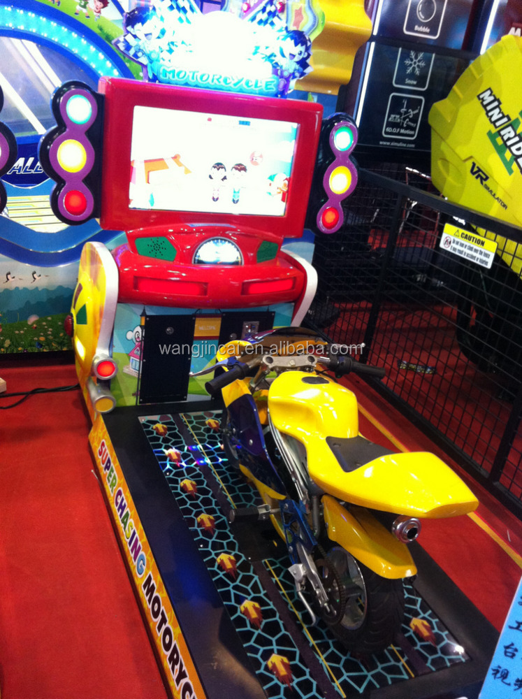 coin operated 4D Fighting simulator Game machine Motor_Cycle play car racing games online redemption machine