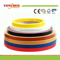 Wood Grain/ Solid Color/ High Gloss PVC Edge Banding For Particleboard/ MDF