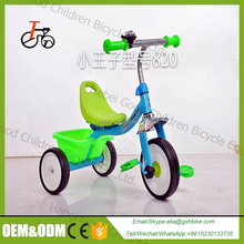 Steel frame New model Kids toy Tricycles Bike / three wheels baby trike / Air wheel and inflatable baby tricycle