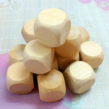 Promotional Custom Round Corner High Quality Wooden Dice