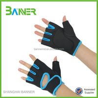 Sports Hands Protection half finger non-slip gym neoprene glove
