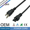 SIPU power cable manufacturers USA standard type plug 3 pin power cord
