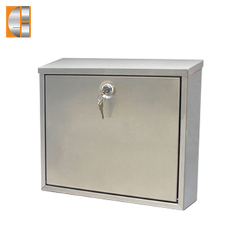 GH-3300 wall mounted stainless steel mailbox