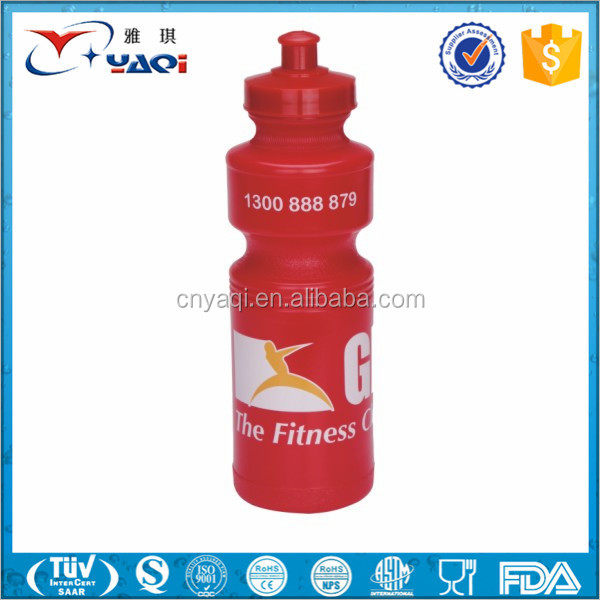 promotional High fashion design plastic sports water shaker bottle,bpa free