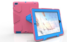 Geometric figure pattern protective case PC silicon for iPad 234