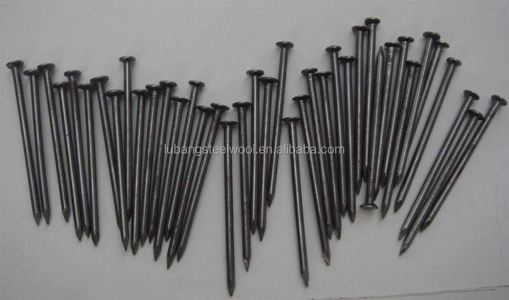 2014 High quality black steel nails factoy