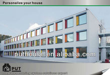 prefabricated container business hotel