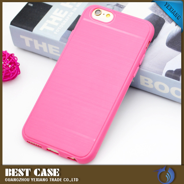 Mobile phone guangzhou hot selling brush tpu case for Samsung galaxy s3 case cover