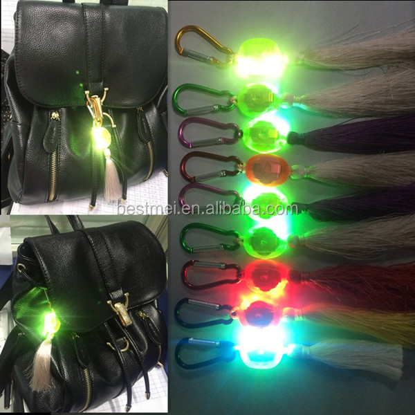 Led Blinking Light Bag Light, Mini Flashing Bag Light For Promotional Gifts