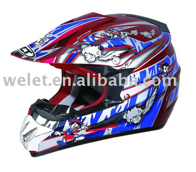 Dirt Bike Helmet motocross helmet full face helmet wlt-125