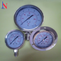 Stainless steel pressure gauge manometer