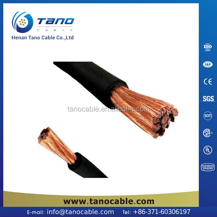 Copper wire 30 years service life 4awg welding cable Nigeria New Zealand Malaysia