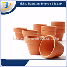 Hot selling high quality different types of injection plastic flower pots mould for garden use