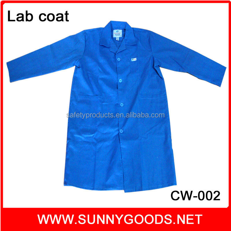 colorful 100% cotton lab coat cheap safety used work uniforms for women and men