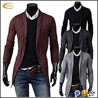OEM supplier China Men's Handsome Slim Casual Cardigan man sweater mens knitwear Coat