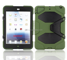 Waterproof case cover for Apple iPad mini 2 with the screen protector