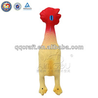 Aimigou dog toy chicken shaped chewing latex pet toy with squeaker