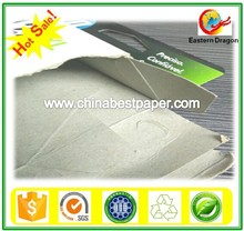 Recycled Duplex Grey Cardboard/Paperboard in Sheets or Rolls
