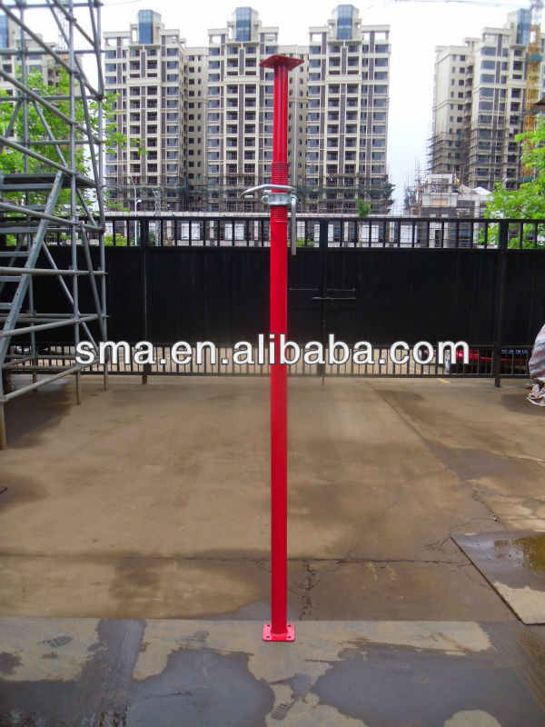 Construction Scaffolding pipe heavy duty type support system steel telescopic prop