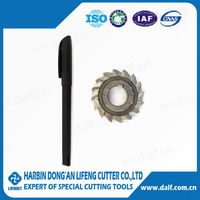 HSS special customized side & face milling cutter