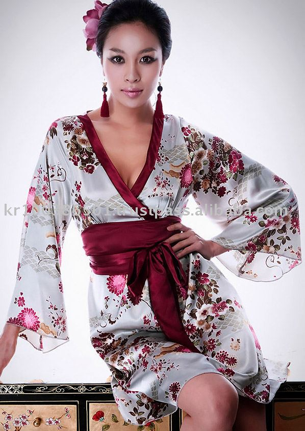 NABIKOREA Unique ladies' dress women's dress Kimono dress Oriental fashion dress