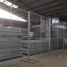 8X12' Temporary Chain Link Fencing (Hot-dipped Galvanized )