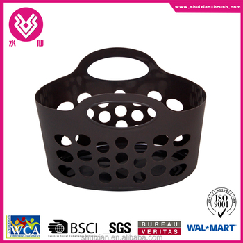 hot item plastic eco-friendly basket with handle