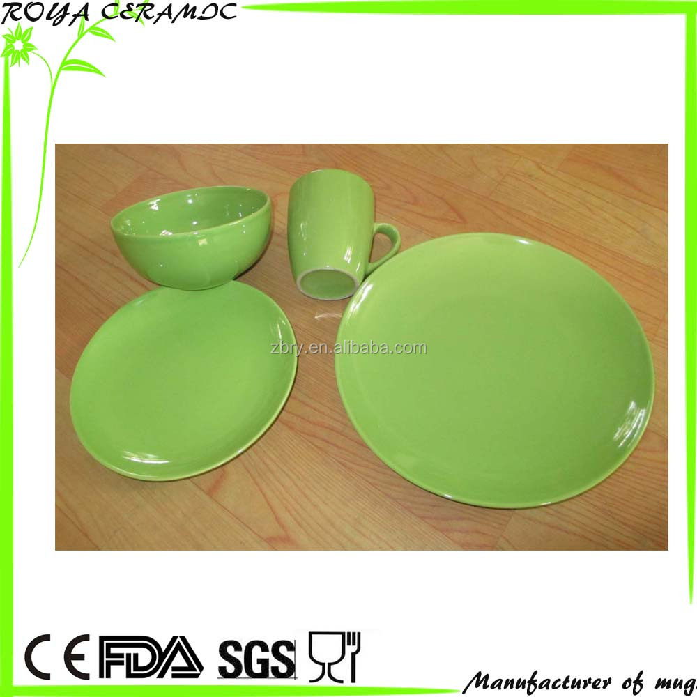 Ceramic stoneware dinner set