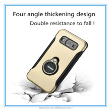 2017 Hot Sale TPU Metal Mobile Phone Case With Holder For S8 360 ring Mobile Phone Cover