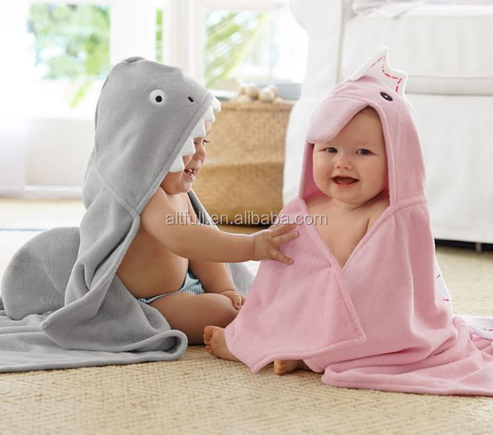 Wholesale China Baby Wahser Organic Cotton Baby Hooded