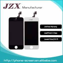 Factory Price For iPhone 5 5S 5C LCD Display + Touch Screen Digitizer with Front Camera + Menu Key