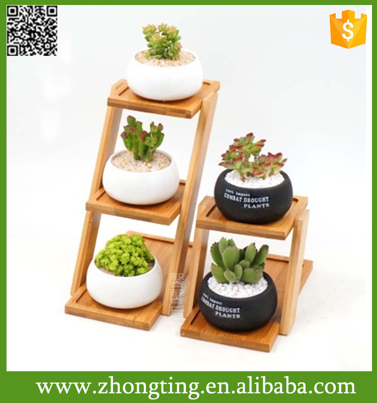 Fashion Modern home Decorative Handmade small Ceramic air pot container