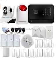 wifi wireless alarm system with strong compatibility,GSM/SMS,GPRS,BLE,RF433/868mhz together