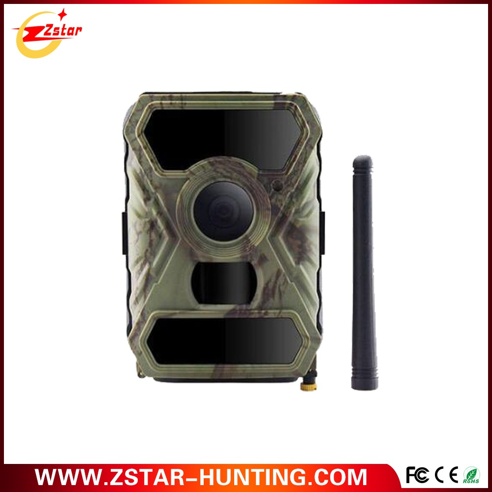 Zstar wide angle 12mp 3G Infrared digital hunting trail camera with 56pcs invisible IR LEDs