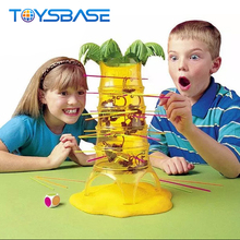 Plastic Tumbling Monkey Game Toy