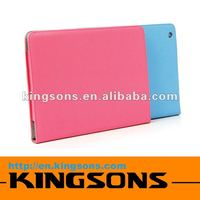 2012 hot-sell and wholesale! Fashion design tablet case for Ipad 3 pu leather micro-fiber lining