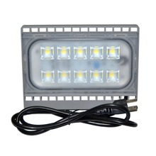 50W Super Bright LED Flood Light Outdoor Spotlight 4500LM Daylight White Waterproof Wall Lights LED Area lighting with Plug