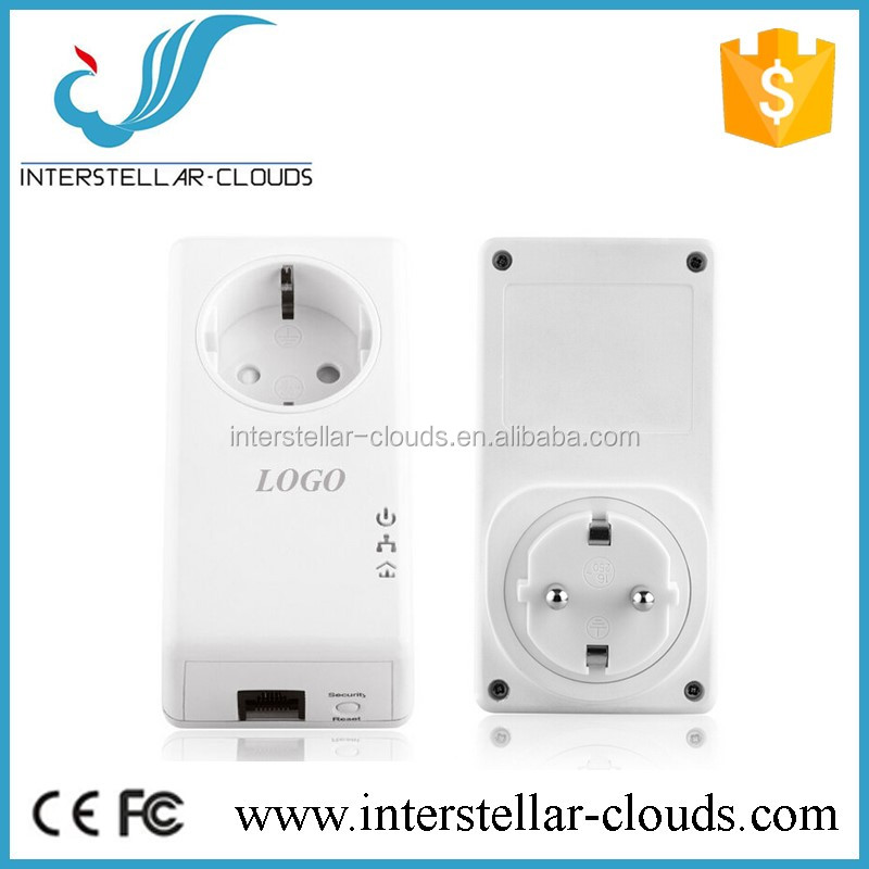 500mbps powerline ethernet wireless transmitter and receiver rj45 wireless plc adapter GX-PL500P