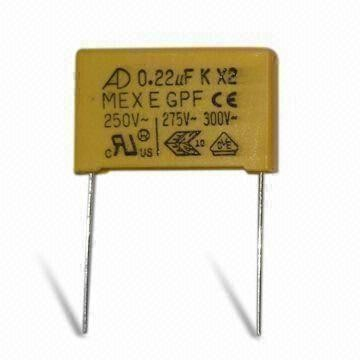 Box type- X2 474K275V metallized plastic film capacitor UL,VDE,CQC