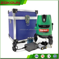 ZKLL05G3F High efficiency Automatic green beam laser level construction