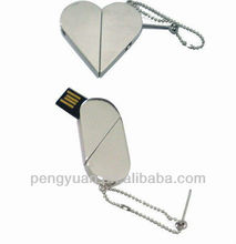 Transformable usb flash drive heart shape (PY-U-395)