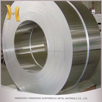 mill finished SGS certificate 1050/1100/1200/1070 aluminum strips/belt for decoration in Zhejiang