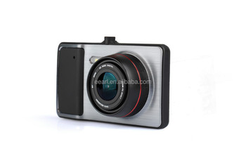 Full HD1080P Wholesale dual cameras/blackbox/dvr for car support front and back video recording