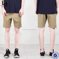 OEM/ODM Hui Lin drop crotch slim fit fashion short men cargo shorts for men