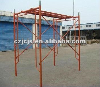 oem American Type Frame Walk Thru System Scaffolding types of scaffolding types of steel scaffolding