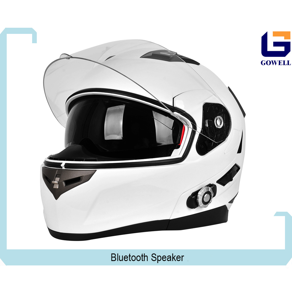 ABS Flip Up Bluetooth Motorcycle Helmets with Double Visor Helmet Motorcycle